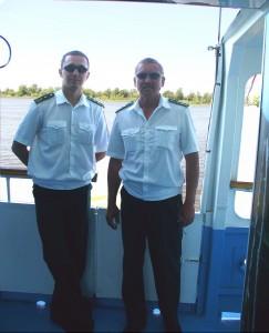 Владимир Николаев (справа), Максим Иванов (слева)