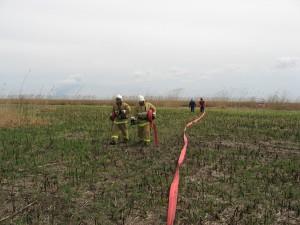 Совместные с МЧС учения по тушению пожаров