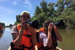 В лодке блогеры ПГорелов