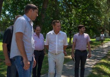 На Дамчикском участке заповедника Губернатор Александр Жилкин встретился с блогерами