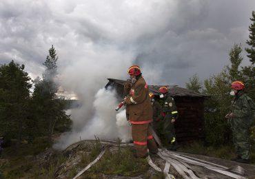 В Академии добровольных огнеборцев