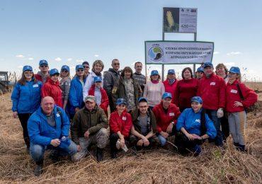 «Почта Банк», «Маракуйя Глобал» и администрация Астраханской области высадили 10 гектаров деревьев в честь 300-летия губернии