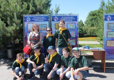 Астраханский заповедник принял участие в акции по выпуску молоди осетровых рыб