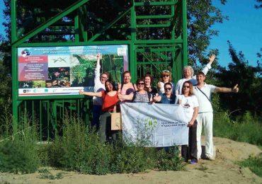 В Астраханском заповеднике состоялся визит партнёров фонда  «Красивые дети в красивом мире»