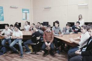 Лекция очень заинтересовала ребят