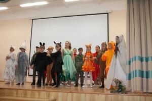 Юные артисты Православной гимназии
