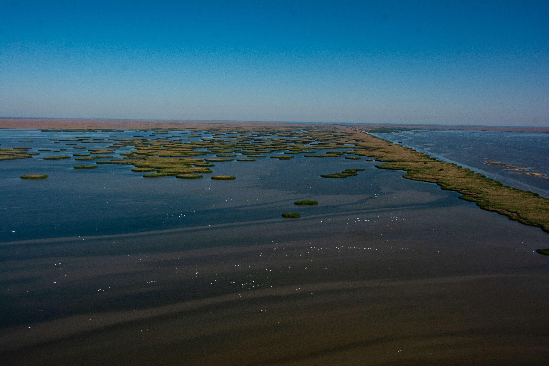 Острова дельты Волги