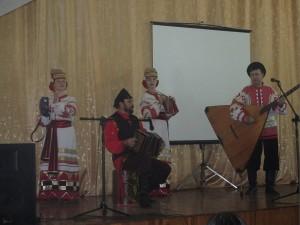 Выступление творческого коллектива Лиманского района