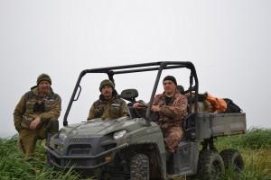 Совместная оперативная группа Астраханского и Командорского заповедников