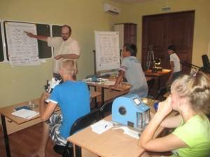 В Учебном центре проводится анализ отобранных проб