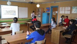 Олимпиада в Калининской школе