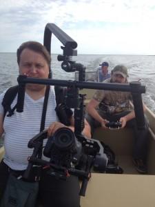 Съёмочная группа проекта во главе с режиссером Дмитрием Ходаковским