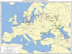 Великий Волжский путь в средневековье