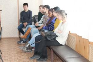 Студенты - слушатели конференции.