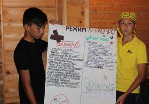 Участники составили правила соблюдения заповедного режима