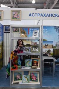 Выставка-продажа творческих работ Ирины Букоткиной