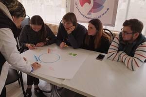 Волонтёры разрабатывают свои эко-проекты