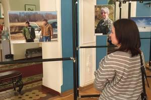 Фотографии, иллюстрирующие работу сотрудников заповедника