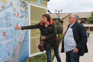 Марина Вильданова рассказывает об истории Астраханского кремля