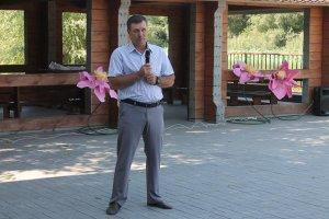 Приветственное слово старшего госинспектора Дамчикского участка Астраханского заповедника Юрия Таранова