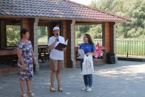 Награждение учителя Полдневской школы Ирины Утепбаевой